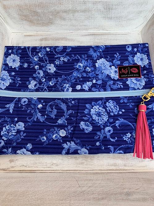 Makeup Junkie Bags Turnkey Elegant Blue Large