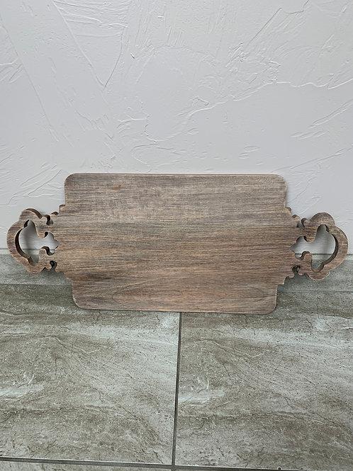 Mud Pie Quarterfoil Wood Board