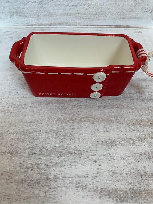 Mud Pie Secret Recipe Mini Loaf Dish