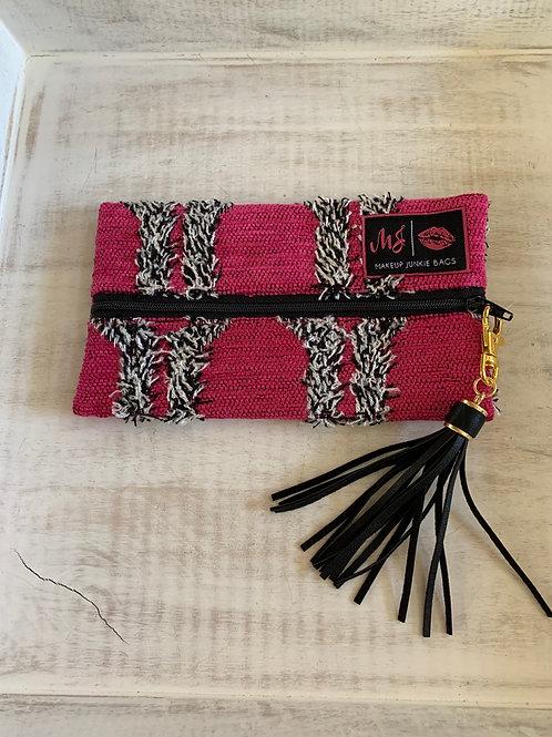 Makeup Junkie Bags Destash Pink Shag Mini