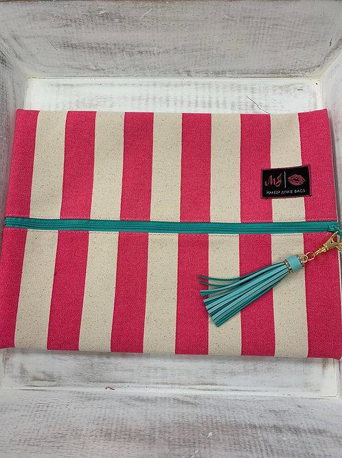 Makeup Junkie Bags Cabana Pink Large