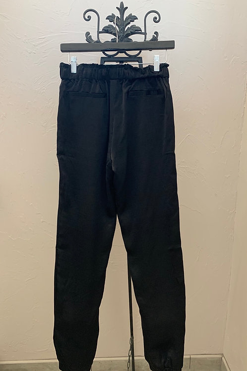 Ethereal Black Rayon Pants