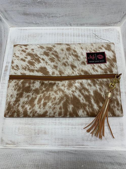 Makeup Junkie Bags Lola Tan Medium