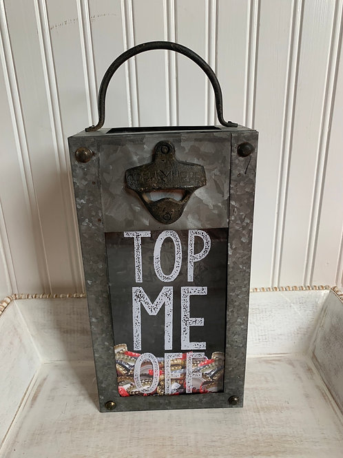Mud Pie Top Me Off Bottle Opener Box