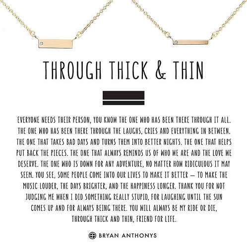 Bryan Anthony's Through Thick and Thin Bracelets