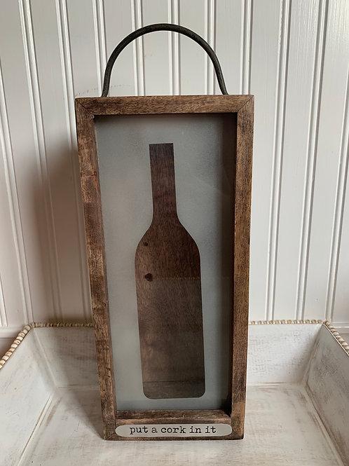 Mud Pie Wine Silhouette Box