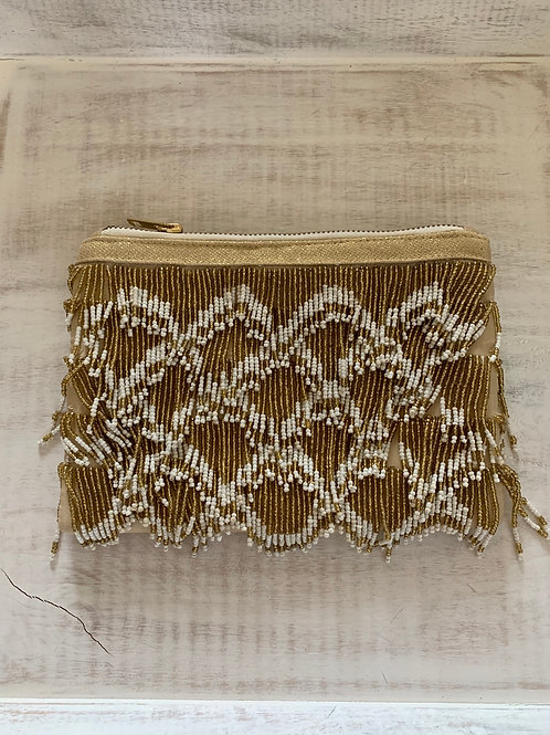 Giftcraft Beaded Clutch Purse