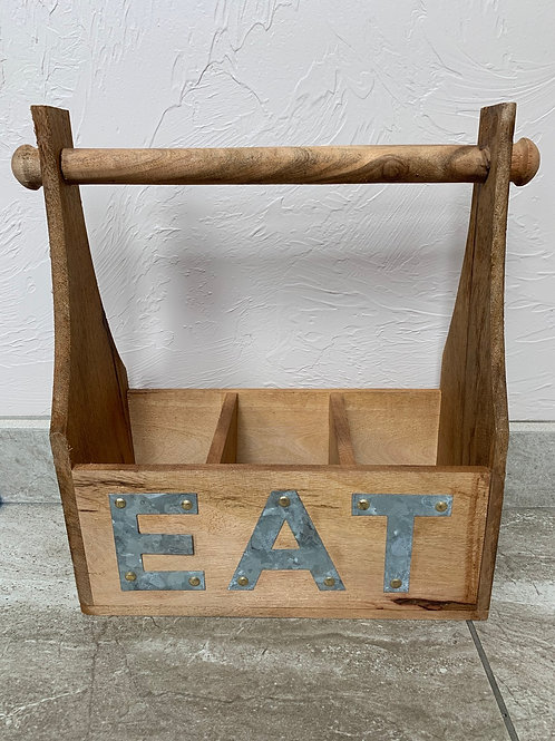 Mud Pie Eat Utensil Holder