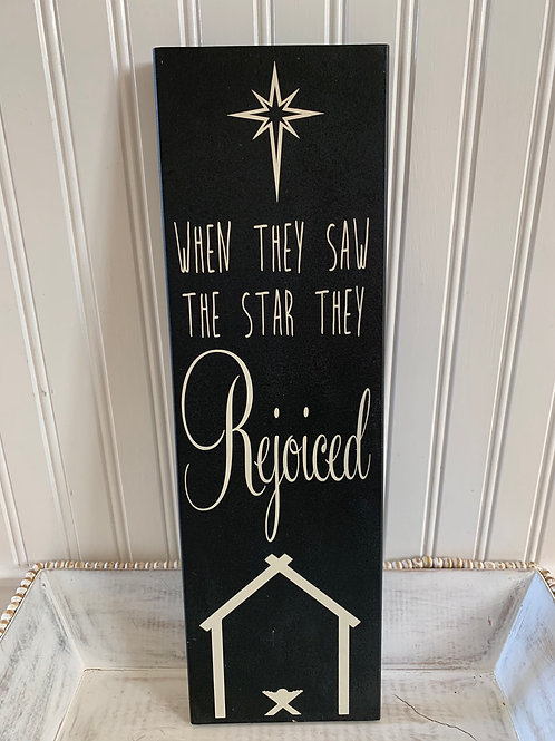 Coloring the Rust Holiday Sign Star