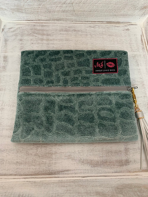 Makeup Junkie Bags Destash Sea Foam Gator Small