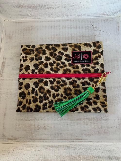 Makeup Junkie Bags Savannah Pink Zipper Small