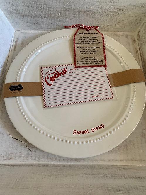 Mud Pie Cookie Exchange Platter