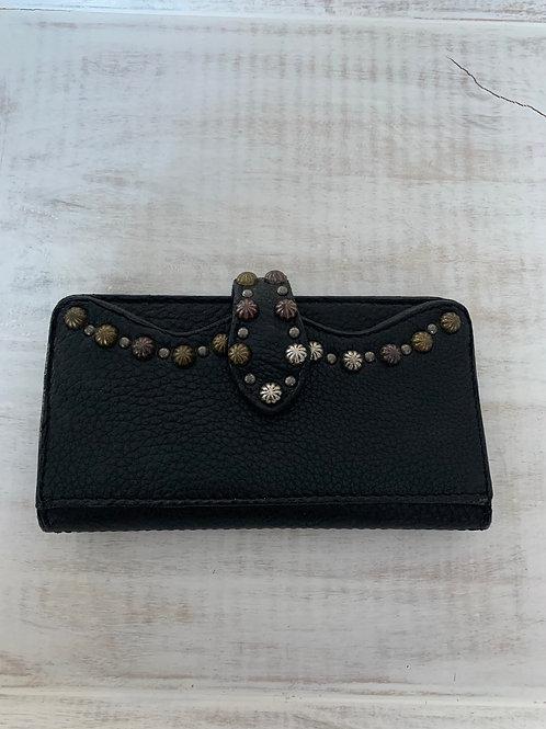 Black Stud Wallet