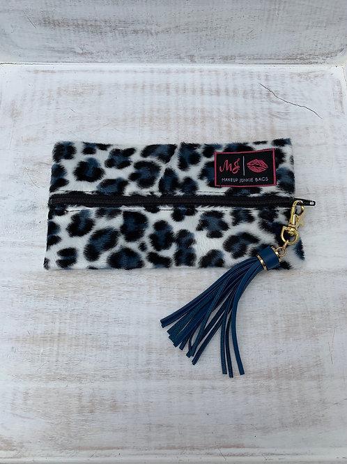 Makeup Junkie Bags Destash Snow Cheetah Mini