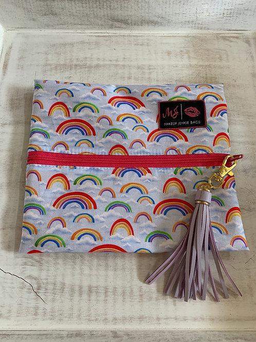 Makeup Junkie Bags Turnkey Rainbow Small