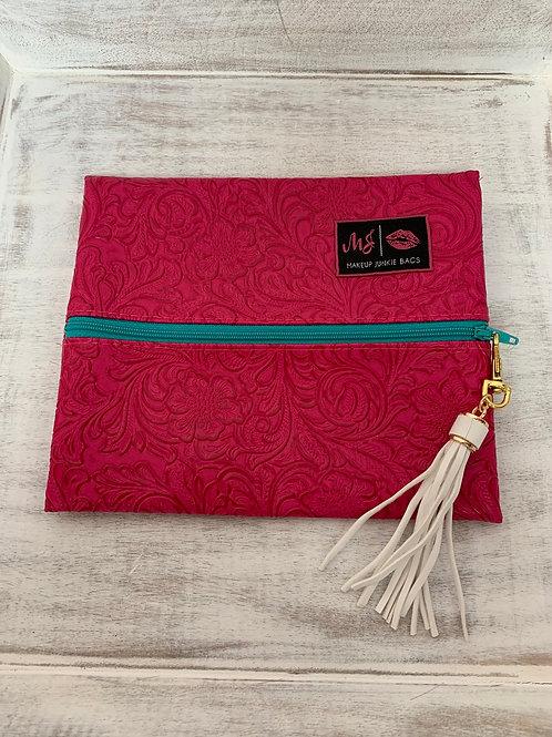 Makeup Junkie Bags Destash MJ Dream Turquoise Zipper Small