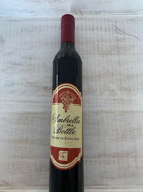 Umbrella in a Bottle Gift
