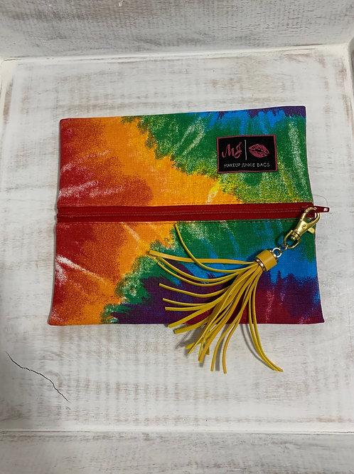 Makeup Junkie Bags Tie Dye Small