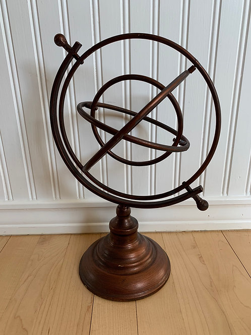 Giftcraft Metal Orbit Table Decor