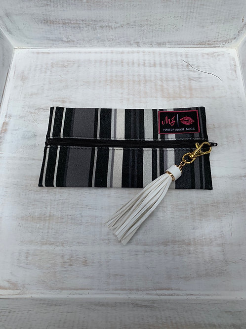 Makeup Junkie Bags Destash Soft Stripe Mini