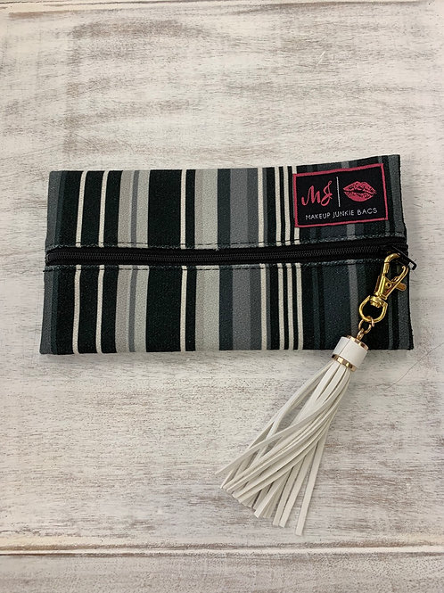 Makeup Junkie Bags Soft Stripe Mini