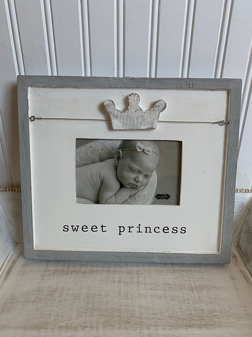Mud Pie Sweet Princess Frame