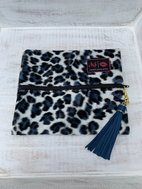 Makeup Junkie Bags Destash Snow Cheetah Small
