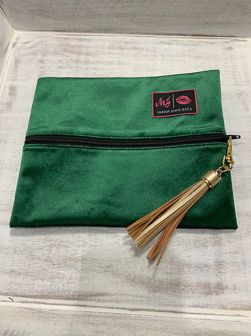 Makeup Junkie Bags Emerald Small
