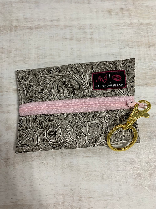 Makeup Junkie Bags Southern Charm Blush Zipper Micro