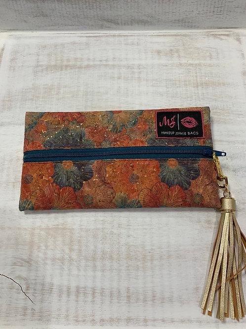Makeup Junkie Bags Petunia Cork Colorful Mini
