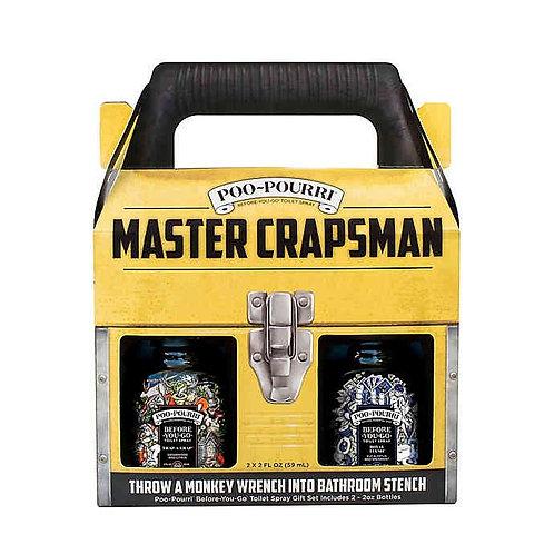 Master Crapsman Poo-Pourri