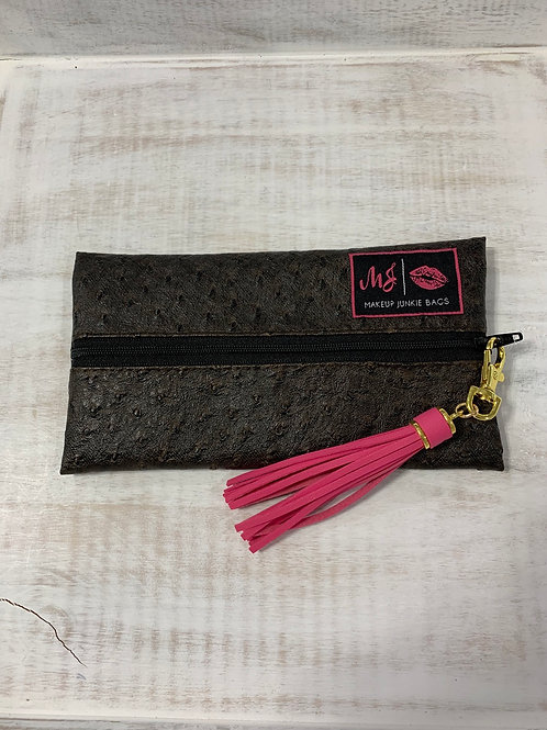 Makeup Junkie Bags Quill Chocolate Mini