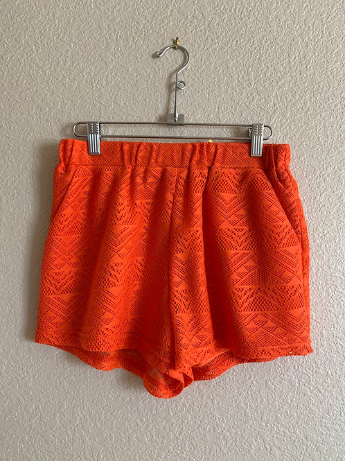 YA Lace Pocketed Shorts