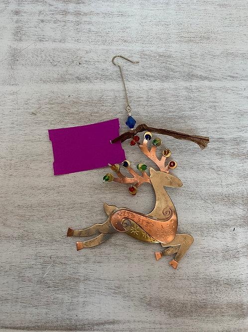 ASW Jumping Deer Ornament