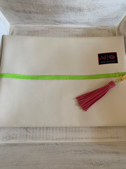 Makeup Junkie Bags Destash Marshmallow Large