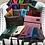 Thumbnail: Makeup Junkie Bags Indigo Glitter Large