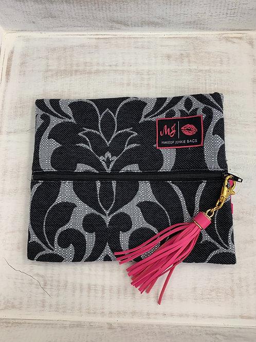 Makeup Junkie Bags Black Velvet Small