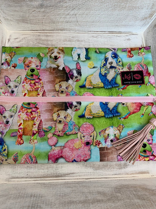 Makeup Junkie Bags Turnkey Drop Dogs Large