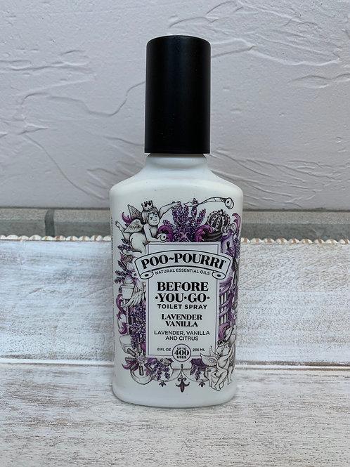Poopourri Lavender Vanilla 8 Oz
