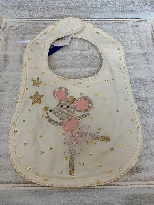 Mud Pie Mouse Sparkle Bib