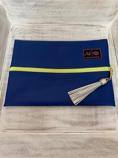 Makeup Junkie Bags Destash Electric Blue Medium