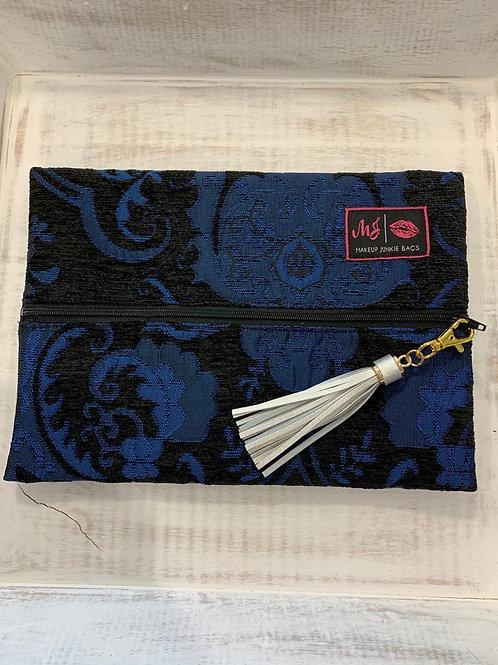 Makeup Junkie Bags Elegant Blue Medium