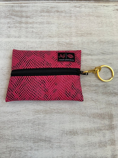 Makeup Junkie Bags Pink Poison Micro