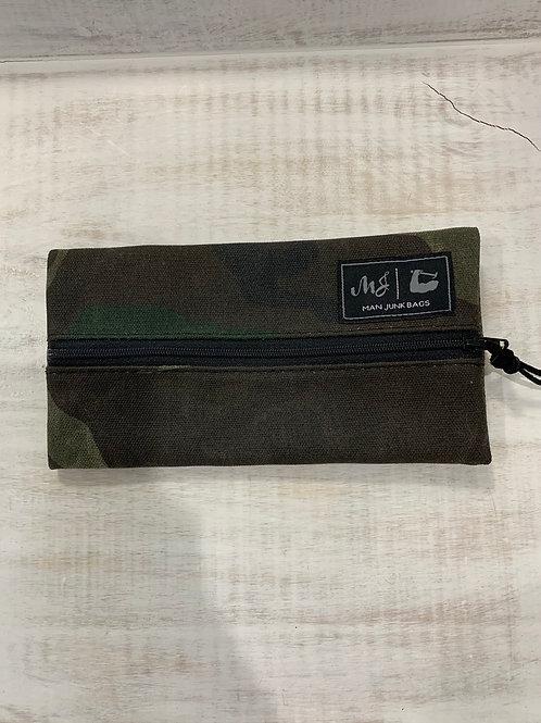 Man Junk Bags Waxed Camo Mini