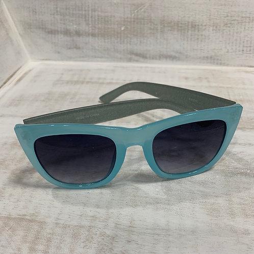 Blue Sunglasses with Glitter