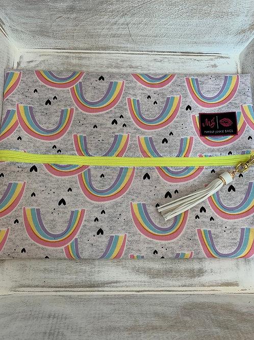 Makeup Junkie Bags Turnkey Drop Rainbows Large