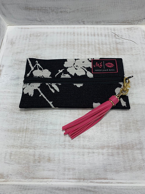 Makeup Junkie Bags Black Poppy Mini