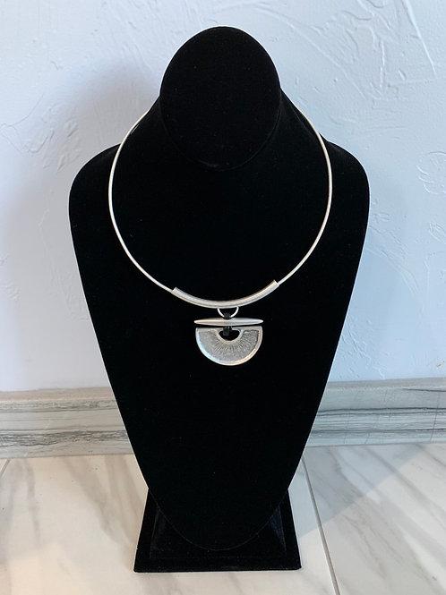 Lauren Michael Cleopatra Silver Necklace