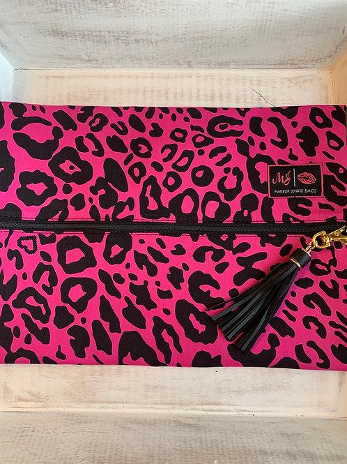 Makeup Junkie Bags Lovely Leopard Large