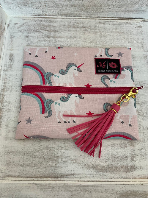 Makeup Junkie Bags Destash Unicorn Small